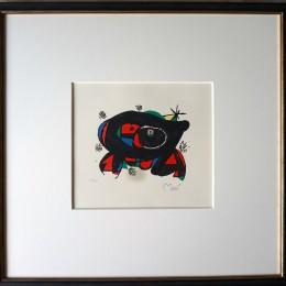 Joan Miró Lithographie