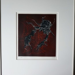Lithographie Riopelle